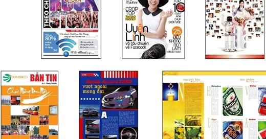 Sản xuất và xuất bản newsletters